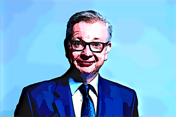Michael Gove: A creature of unknown origins struggling to maintain human form.