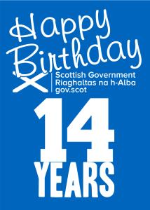 Happy Birthday Scottish Government